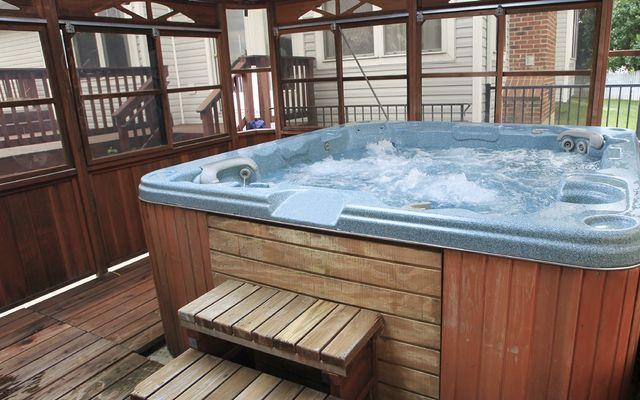 Hot tub installation cost