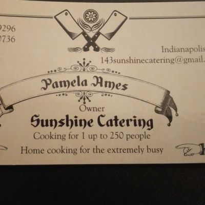 Sunshine Catering Indianapolis, IN Thumbtack