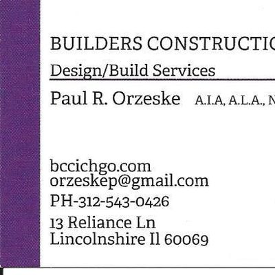 Builders Construction Company, Inc. Lincolnshire, IL Thumbtack