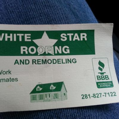 White Star Roofing Houston, TX Thumbtack