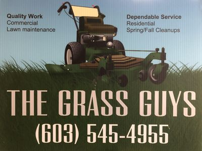 The Grass Guys    landscaping Concord, NH Thumbtack