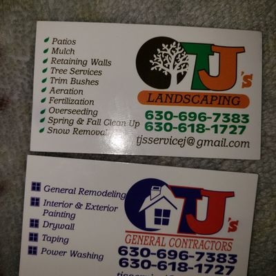 TJ's landscaping and Remodeling service - Aurora, IL