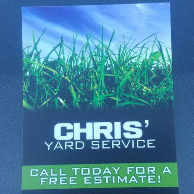 Chris Yard Service Willard, MO Thumbtack
