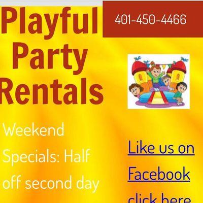 PLAYFUL PARTY RENTALS Cranston, RI Thumbtack