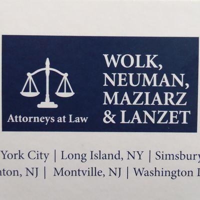 Wolk, Neuman, Maziarz & Lanzet Center Moriches, NY Thumbtack
