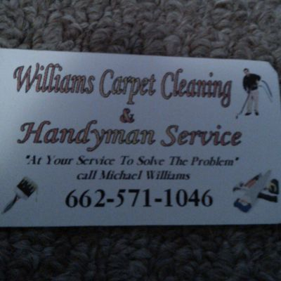 Williiams Carpet Cleaning & Handyman Service Yazoo City, MS Thumbtack