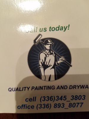Quality painting and dywall Winston Salem, NC Thumbtack