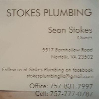 Stokes Plumbing Virginia Beach, VA Thumbtack