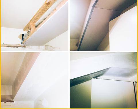 Drywall Enclosure to Hide Ducting