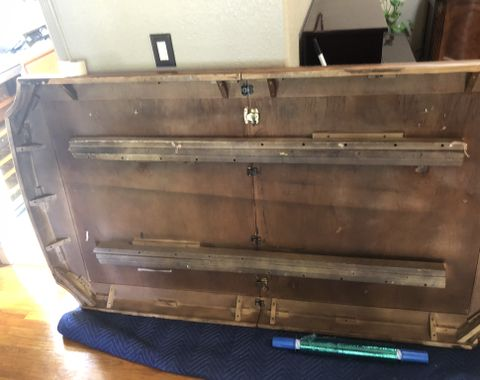 Large Dr set complete 2 piece hutch & buffett large