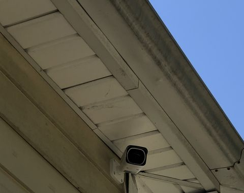 Security cameras install with remote access configuration
