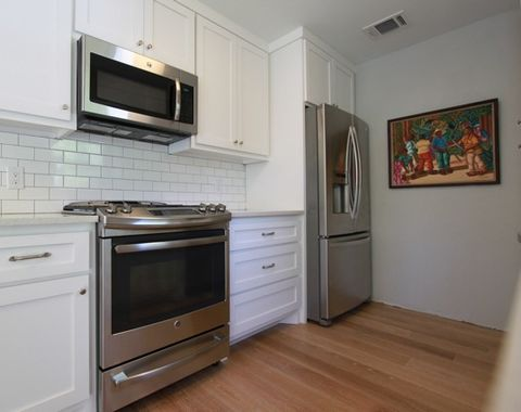 Cabinets make a small space feel large