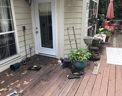 Removal and construction  of new deck