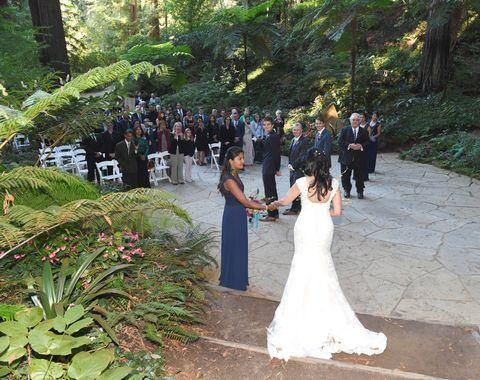Los Gatos Outdoor Wedding