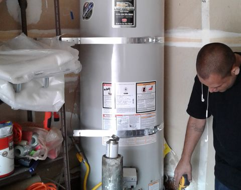 Water heater replacement code upgrades