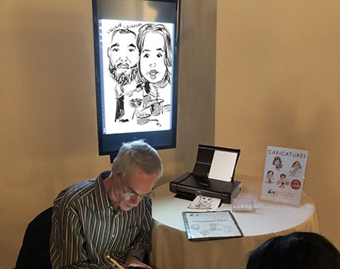Now Offering Digital Caricatures