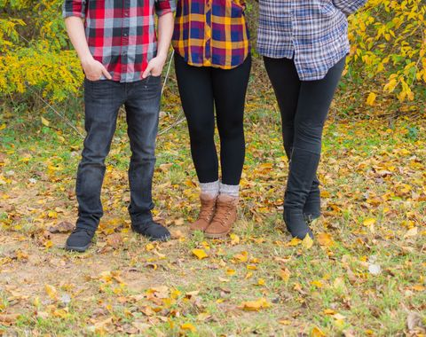 Family portraits for Fall