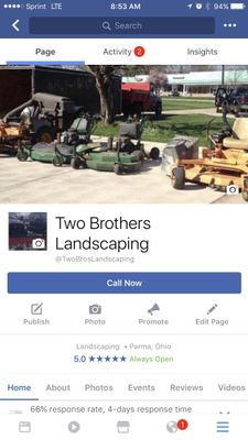 Two Brothers Landscaping Cleveland, OH Thumbtack