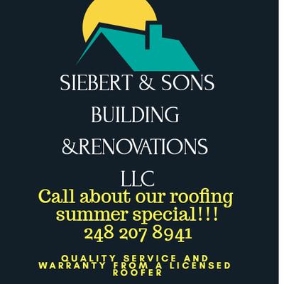 Siebert & Sons Building & Renovations LLC Garden City, MI Thumbtack