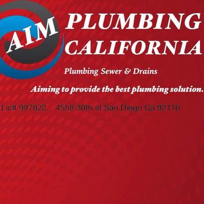 Aim Plumbing California San Diego, CA Thumbtack