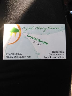 Crystal's Cleaning Services Farmington, AR Thumbtack