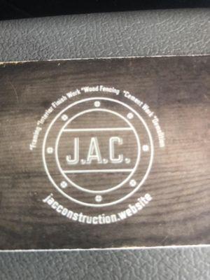 JACconstruction