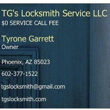 TG's Locksmith Service LLC Phoenix, AZ Thumbtack