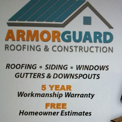 ArmorGuard Roofing & Construction Hartville, OH Thumbtack