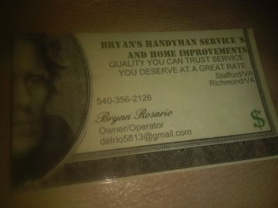 Bryan's Handyman Service's And Home Improvement's Stafford, VA Thumbtack