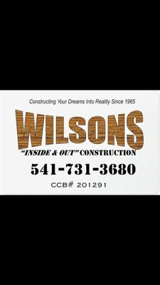 Wilsons Inside and Out Construction Springfield, OR Thumbtack