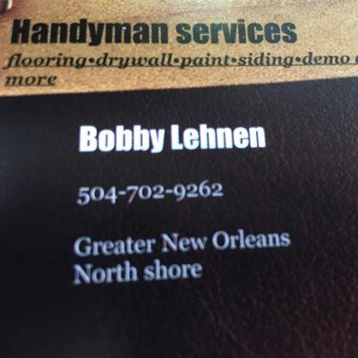 Handyman services Metairie, LA Thumbtack