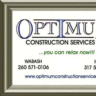 Optimum Construction Services LLC Wabash, IN Thumbtack
