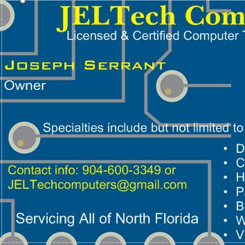 JELTech Computer Repairs LLC. Jacksonville, FL Thumbtack