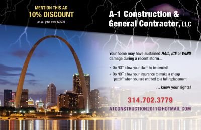 A1 Construction General Contractor LLC Saint Louis, MO Thumbtack