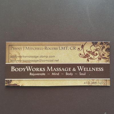 BodyWorks Massage & Wellness Westfield, MA Thumbtack
