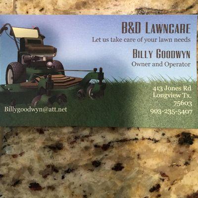 B&D Lawncare Longview, TX Thumbtack