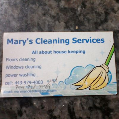 Mary's home services Annapolis, MD Thumbtack