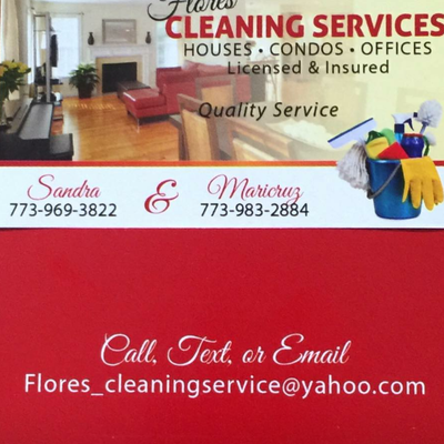 Flores cleaning service Chicago, IL Thumbtack