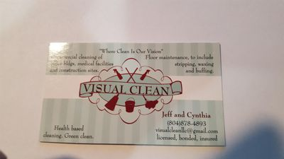 Visual Clean 2 LLC Richmond, VA Thumbtack