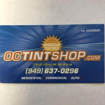 OC Tint Shop Inc. Irvine, CA Thumbtack