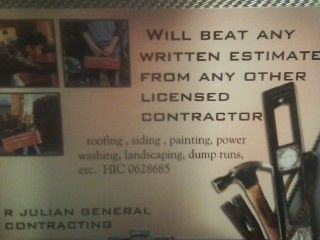 R. Julian General Contracting Colchester, CT Thumbtack