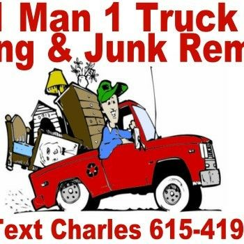 1 Man 1 Truck Hauling & Junk Removal Gallatin, TN Thumbtack