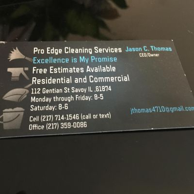 Proedge Cleaning Services Inc. Savoy, IL Thumbtack