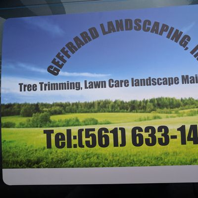 geffrardLandscaping West Palm Beach, FL Thumbtack