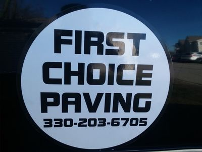 First Choice Paving Wadsworth, OH Thumbtack