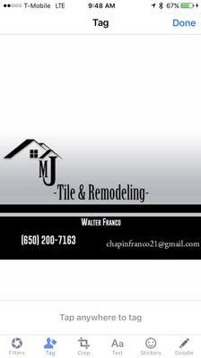 MJ tile and remodeling Redwood City, CA Thumbtack