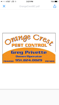 Orange Crest Pest Control Newport Beach, CA Thumbtack