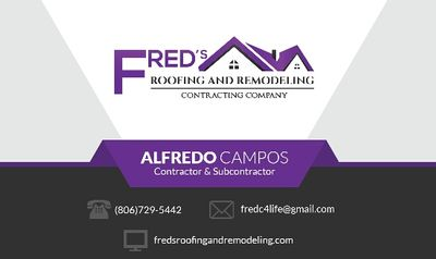 Fred's Roofing And Remodeling Plainview, TX Thumbtack