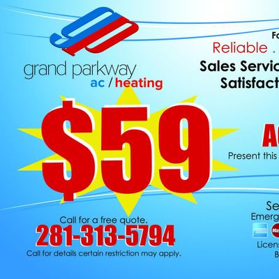 Grand Parkway AC and Heating Sugar Land, TX Thumbtack