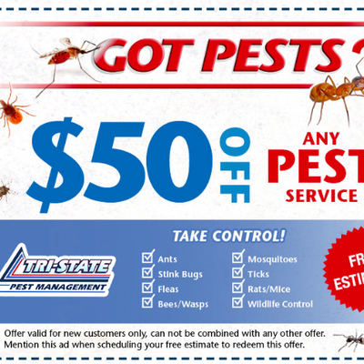 Tri-State Pest Management, Inc. Newark, DE Thumbtack